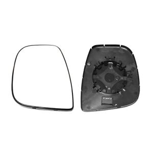 PEUGEOT PARTNER TEPEE 2012->2021 MIRROR GLASS, HEATED WITH BASE PLATE,LEFT SIDE