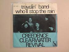 "CREEDENCE CLEARWATER REVIVAL: Travelin' Band-Who'll Stop The Rain-Denmark 7"" PSL"