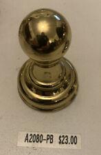 Alno Creations A2080-PB Carlton Series Brass Robe Hook Bathroom Hardware