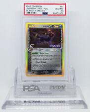 Pokemon EX DELTA SPECIES UMBREON #17 REVERSE HOLO FOIL CARD PSA 10 GEM MINT *