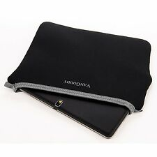 Black Soft Tablet Sleeve Pouch Bag Cover For Samsung Galaxy Note Pro 12.2 inches