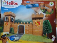 Knight's Castle Teifoc Birck & Mortar building construction toy Kit Tei3600