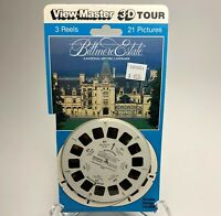 Vintage 1990 View-Master 3D Tour Historic BILTMORE ESTATE 21 Picture 3 Reel Pack