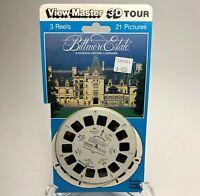 Vintage 1990 View-Master 3D Tour Historic BILTMORE ESTATE 21 Picture 3 Reel Pack