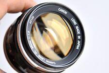 CANON Lens FL 55mm f/1.2  Lens  (FD/FL) - Japanese Noctilux  * Great Condition *