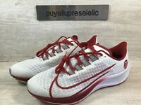 Men Nike Air Zoom Pegasus 37 Running Shoes Oklahoma Sooners CZ5387-100 Size 11.5