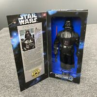 Vintage 90s Star Wars Collector Series Darth Vader Kenner Doll Figure 1996 Box