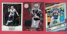 TOM BRADY GAME USED JERSEY + PRIZM Refractor CARD + 2017 NEW ENGLAND PATRIOTS