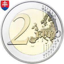 Eslovaquia 🇸🇰 2 € euros 2009 2011 2012 2013 2014 2016 2018 2019 ESCOGER