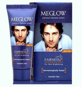 2 X Meglow New Whitening Face Cream Fairness Men Fair Glowing Skin 50GM