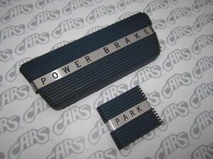 1961-1964 Buick LeSabre Wildcat Riviera Electra Brake & Park Brake Pads  - Blue