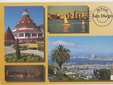 Hi From San Diego USA 1997 Postcard 092a