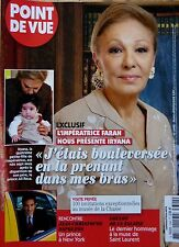POINT DE VUE 2011: FARAH DIBA_SACHA GUITRY_LOULOU DE LA FALAISE_Prince NAPOLEON