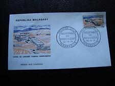 MADAGASCAR - enveloppe 14/4/71 - usine de chrome - yt n° 485 - (cy5)