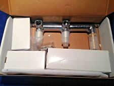 Signature Hardware Wall Mount 2 Handle Concealed Basin Faucet Chrome (LOC-128)