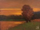 Tonalist Barbizon painting wojdakowski Composition No. 376