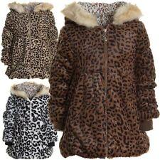Mädchen-Jacken mit Kapuze aus Baumwollmischung