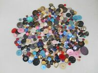 Lot of Vintage Sewing Buttons Crafting Various Sizes