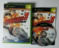 Burnout 3 Takedown Microsoft Xbox Video Game Complete CIB Manual Racing
