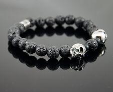 Premium Armband | Herren Jaspis Mode Fashion Halbedelstein Perlen Rund Bracelet
