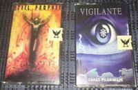 Thrash Doom Death Metal Vigilante Steel Prophet  2 Cassette Tape Lot Played