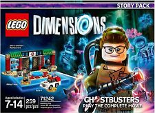 ⭐⭐⭐ NIB LEGO Dimensions Ghostbusters Story Pack 71242 - 259 PC Set ⭐⭐⭐