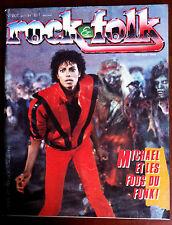 ROCK & FOLK n°207 du 4/1984; M. Jackson/ Clash/ Tony Joe White/ Dolly Parton