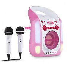 auna Equipo Kara Illumina Reproductor de CD y MP3 Puerto USB  Entrada AUX Salda