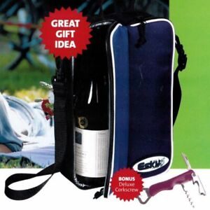 ESKY™ BYO - 2 Bottle Divider Soft Cooler with Corkscrew