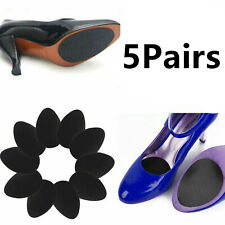 5 Pairs Anti-Slip Rubber Shoe Grips High-Heeled Shoe Pads Sole Protector Sticker