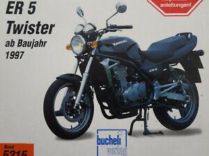 Reparaturanleitung, Buch,Kawasaki ER 5 Twister, ER500A, Exklusivdruck, Band 5215