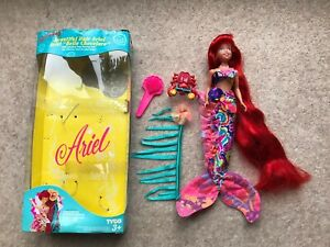 Vintage 1992 Ariel Disney's Little Mermaid Doll