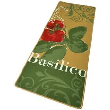 Design velours cuisines Basilico vert 67x180 cm 102081