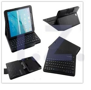 """Detachable ABS Keyboard Folio Case Stand for Samsung Galaxy Tab S3 9.7"""" SM-T820"""