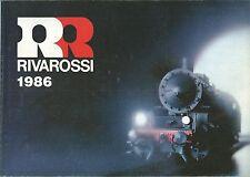 Rivarossi Catalogo 1986  Treni Elettrici Scala HO
