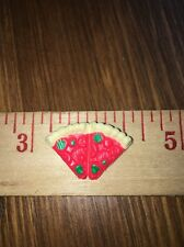Barbie Cheese Pepper Pizza Pie Slices Dollhouse Miniature Food Kitchen Accessory