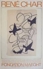 Georges BRAQUE (1882-1963) Lithographie en Offset de 1971 Signée dans la planche
