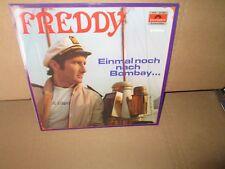 FREDDY QUINN - EINMAL NOCH NACH BOMBAY... rare GERMAN Vinyl LP exc/vg