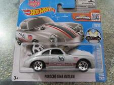 Hot Wheels 2016 #120/250 PORSCHE 356 A Outlaw Argent Showroom Case H Nouveau casting