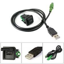 VW Standard Factory Fit USB Port Socket Aftermarket USB Fitting Switch Adaptor