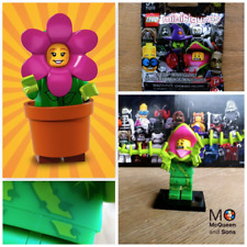 LEGO 71021 Series 18 MINIFIGURES Flowerpot Girl #14 MONSTERS PLANT MAN #5 71010