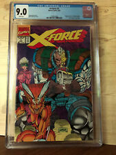 X-Force #1 (Aug 1991, Marvel) CGC 9.0 Negative UPC code with Bag & Inserts