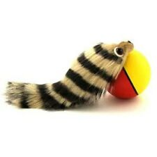 FERRET WITH BALL - WEASEL FERRET CLASSIC FUN TOY WITH BALL TO PLAY WITH AND ROLL