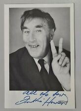 More details for frankie howerd hand signed 6x4 photo and letter - up pompeii - carry on films
