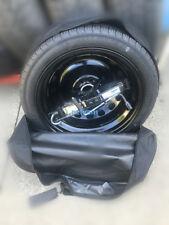 """kit rueda de repuesto galleta 17/"""" para AUDI Q5 con gato llave y bolsa 70x14cm"""