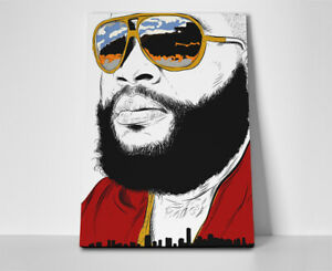 Rick Ross Poster or Canvas