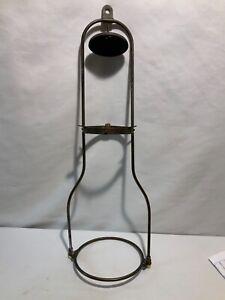Aladdin model B hanging  kerosene oil lamp tilt frame smoke bell