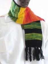 Strick Schal_Knitted scarf_Rasta, Reggae