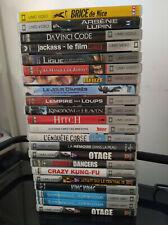 Lot de 22 FILMS UMD pour console SONY PSP en boite Asterix Zorro Brice King Kong