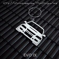 Mitsubishi EVO 9 Stainless Steel Keychain